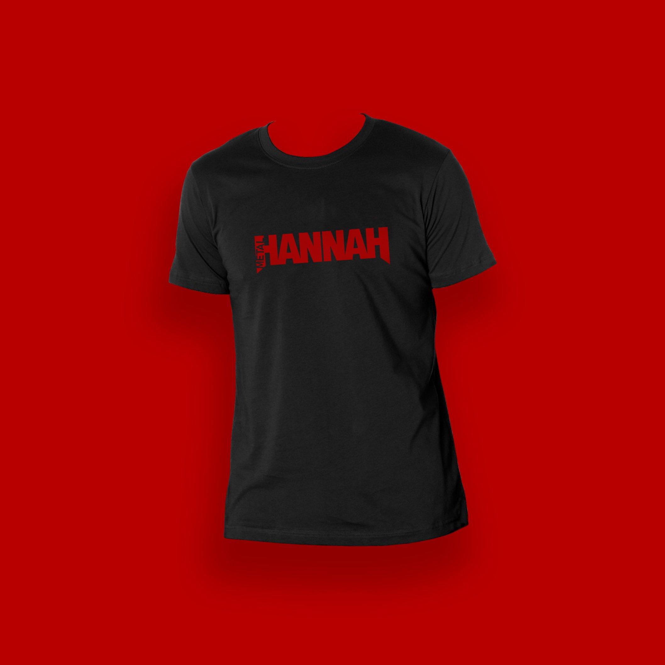 Metal Hannah Tee - Black
